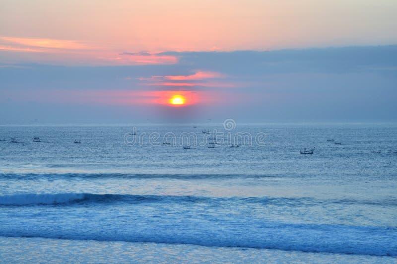 Paisaje escénico de la costa de Bali fotos de archivo