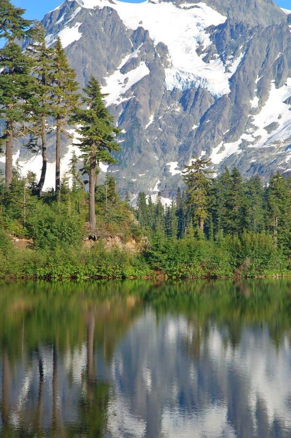 Download Paisaje Escénico De La Montaña Foto de archivo - Imagen de verano, reflexión: 1284902
