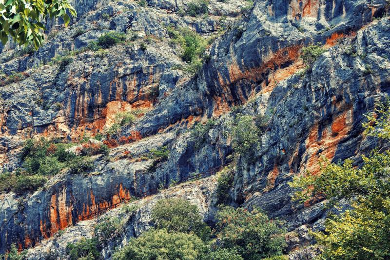 Paisaje escénico de la montaña imagenes de archivo