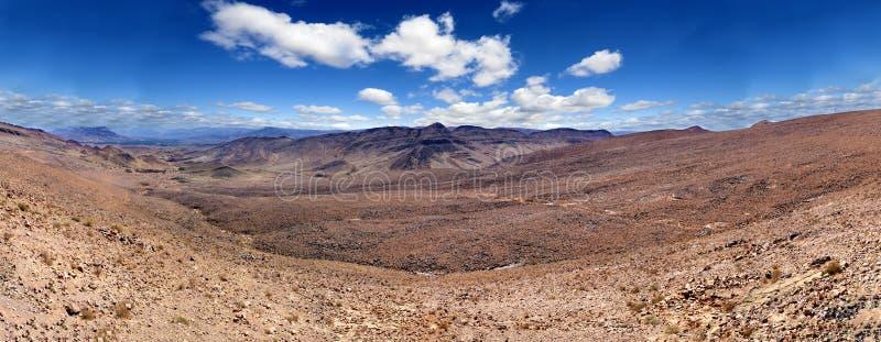 Paisaje escénico del desierto de Marruecos fotografía de archivo