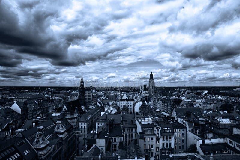 Paisaje europeo fotografía de archivo libre de regalías
