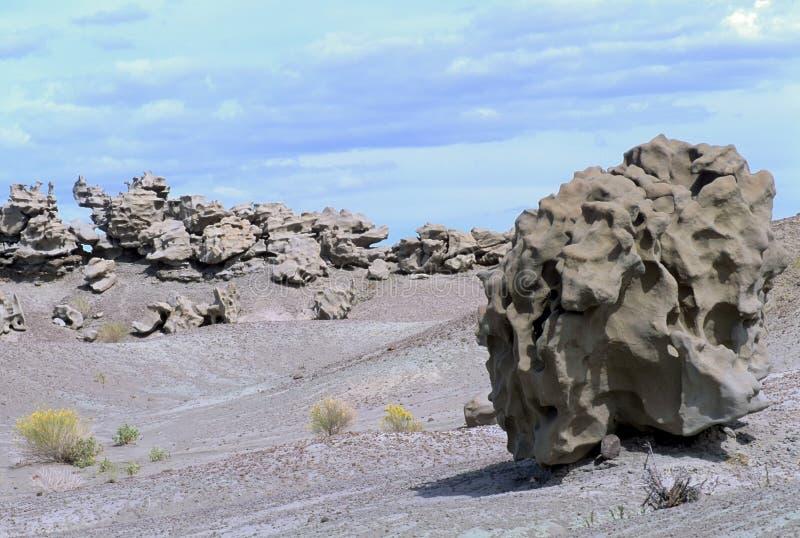Paisaje extranjero en el barranco de la fantasía, Utah foto de archivo libre de regalías