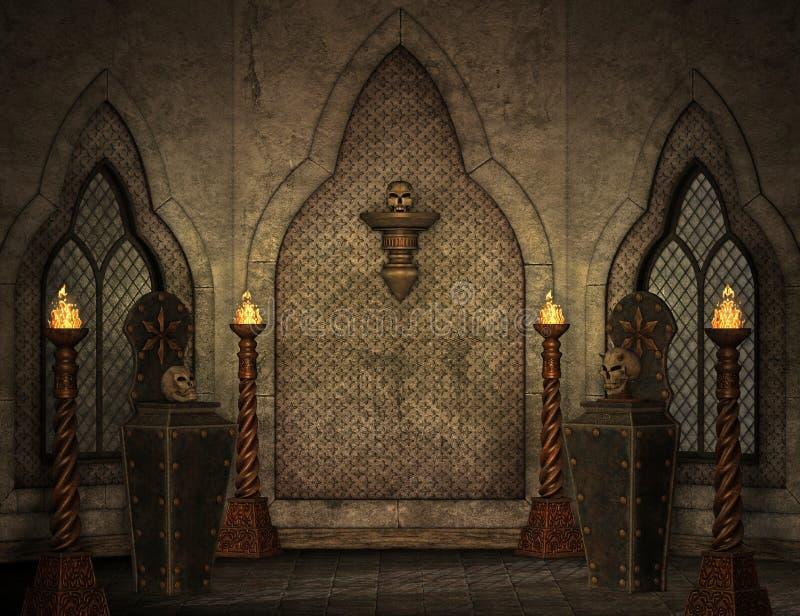 Paisaje gótico libre illustration