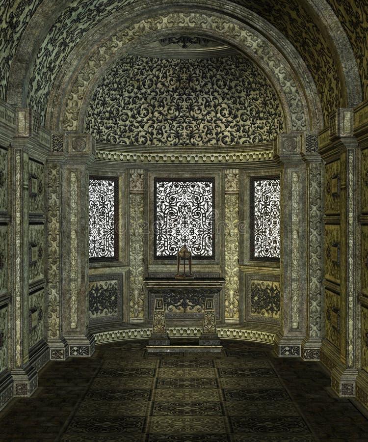Paisaje gótico 54 stock de ilustración