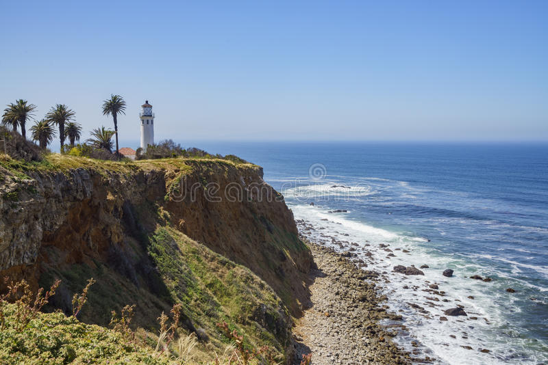 Paisaje hermoso alrededor de Vicente Lighthouse imagenes de archivo