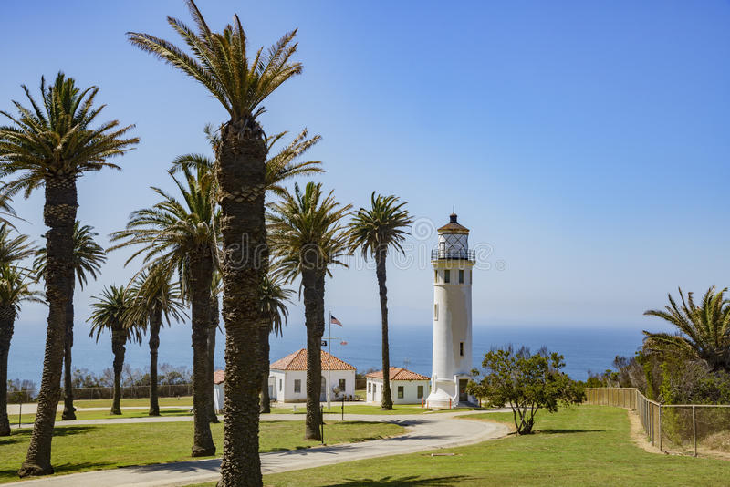 Paisaje hermoso alrededor de Vicente Lighthouse fotografía de archivo libre de regalías