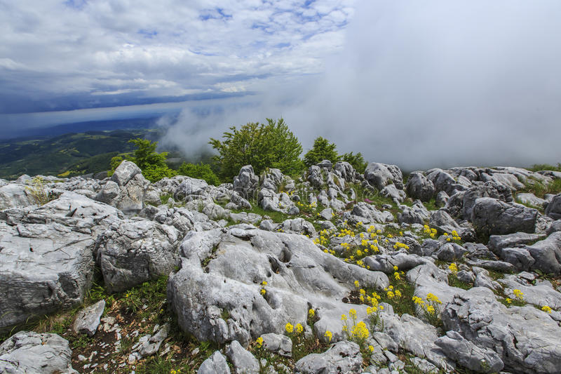 Download Paisaje Hermoso De La Montaña En Las Montañas Foto de archivo - Imagen de limestone, pasto: 41917832