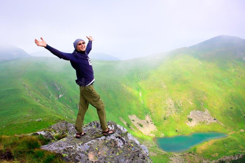 Paisaje hermoso de las montañas foto de archivo libre de regalías