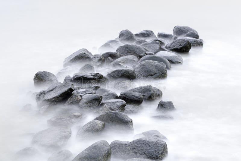 Paisaje hermoso de rocas. foto de archivo libre de regalías