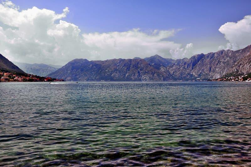 Paisaje hermoso del mar fotos de archivo libres de regalías