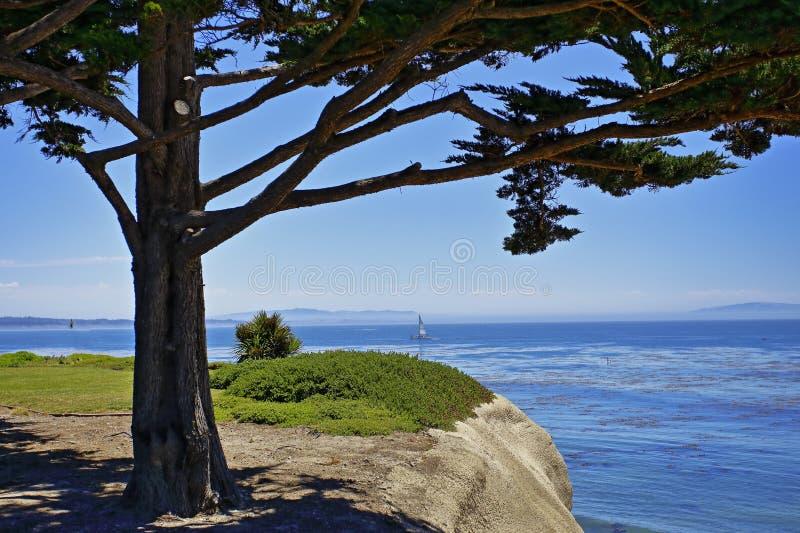 Paisaje hermoso en la playa fotografía de archivo