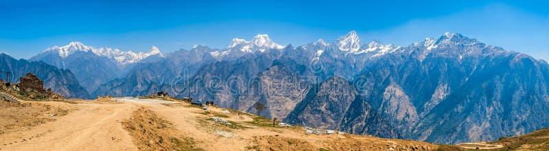 Paisaje Himalayan fotos de archivo libres de regalías