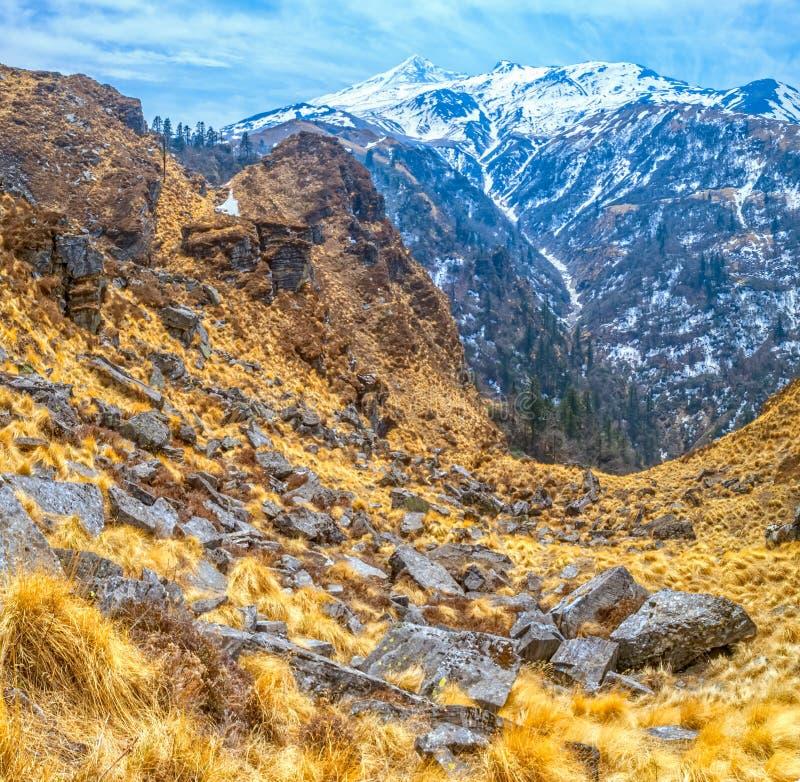Paisaje Himalayan imágenes de archivo libres de regalías