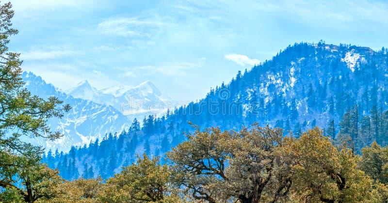 Paisaje Himalayan imagen de archivo libre de regalías
