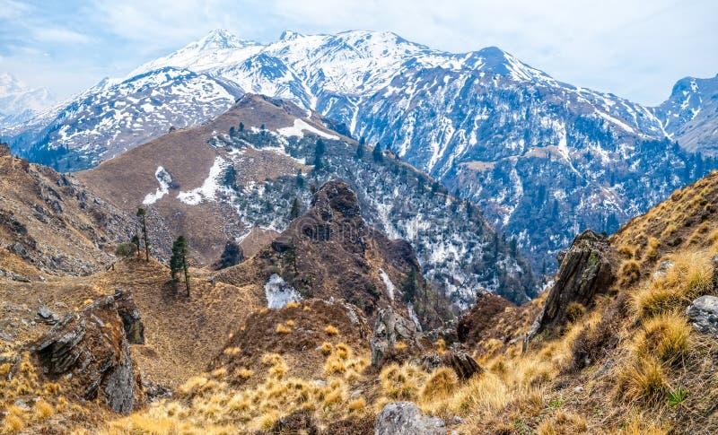 Paisaje Himalayan foto de archivo libre de regalías