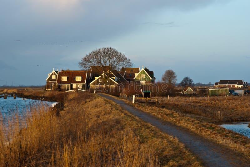 Paisaje holandés imagen de archivo
