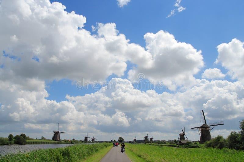 Paisaje holandés fotografía de archivo libre de regalías