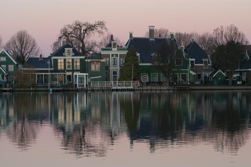 paisaje holandés imagenes de archivo