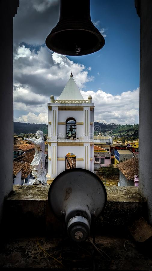 Paisaje Iglesia y stockfoto