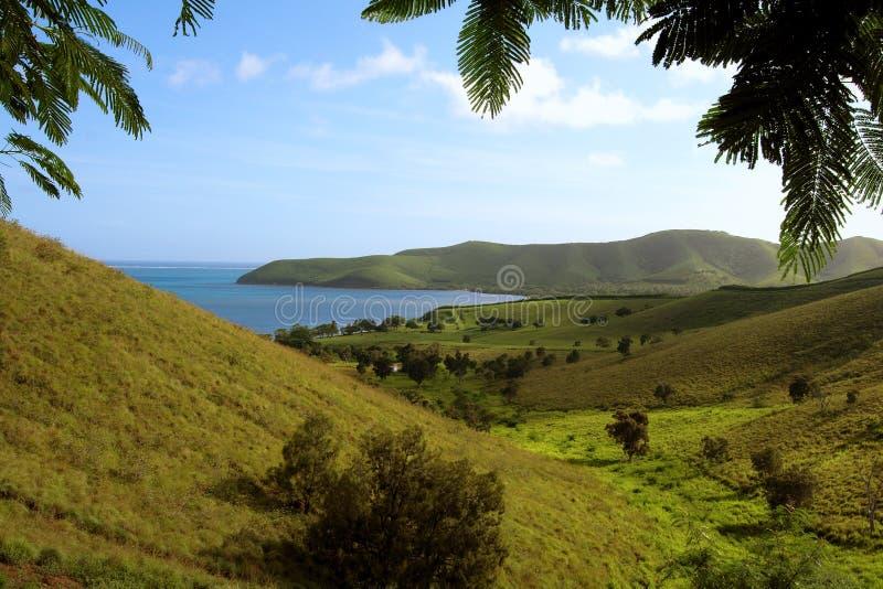 Paisaje Iof Nueva Caledonia Imagen de archivo libre de regalías