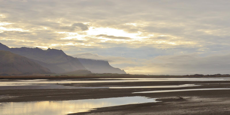 Paisaje Islandia fotos de archivo libres de regalías