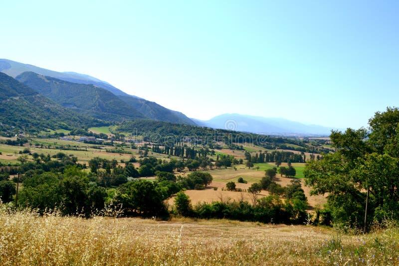 Paisaje Italia foto de archivo libre de regalías