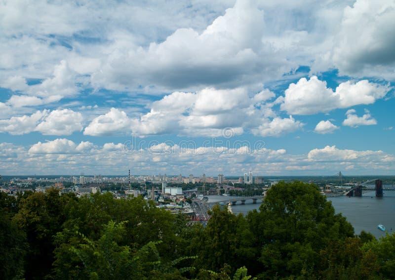 Paisaje Kiev fotografía de archivo