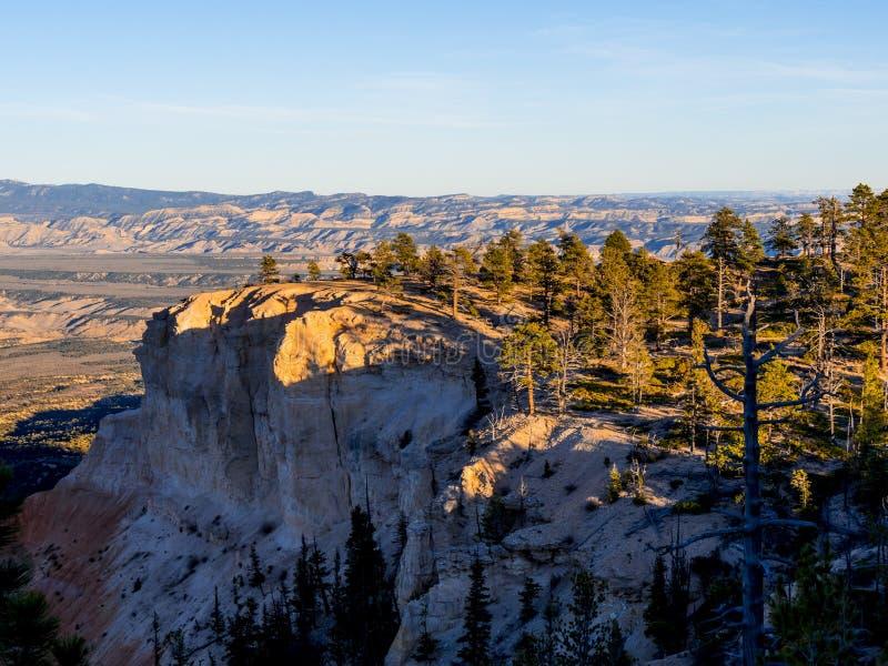 Paisaje maravilloso en Bryce Canyon National Park en Utah fotografía de archivo