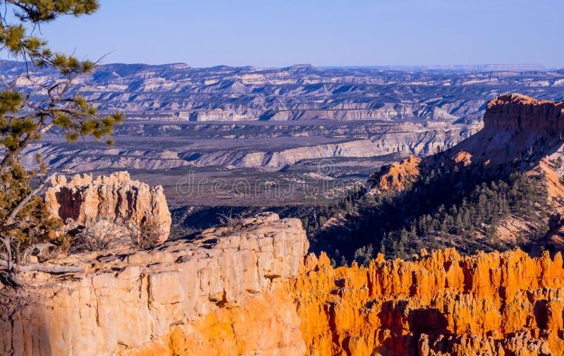 Paisaje maravilloso en Bryce Canyon National Park en Utah foto de archivo libre de regalías