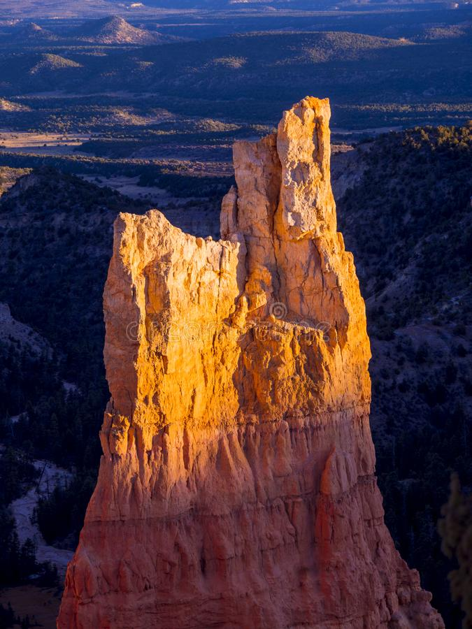 Paisaje maravilloso en Bryce Canyon National Park en Utah fotografía de archivo libre de regalías