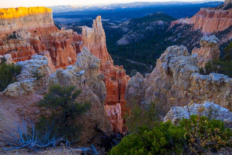Paisaje maravilloso en Bryce Canyon National Park en Utah imágenes de archivo libres de regalías