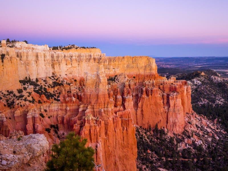 Paisaje maravilloso en Bryce Canyon National Park en Utah imagenes de archivo