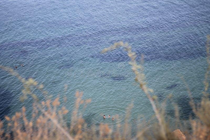 Paisaje marino, el Mar Negro, Odessa fotos de archivo