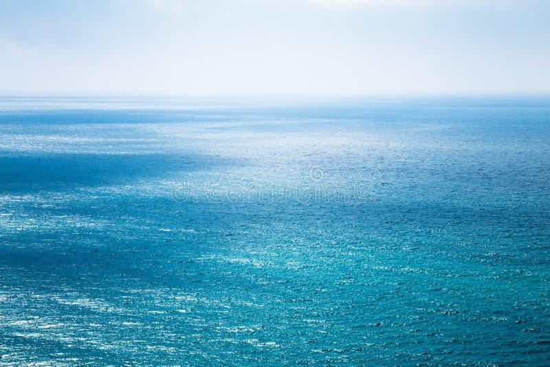 Paisaje marino hermoso en el Océano Atlántico foto de archivo libre de regalías
