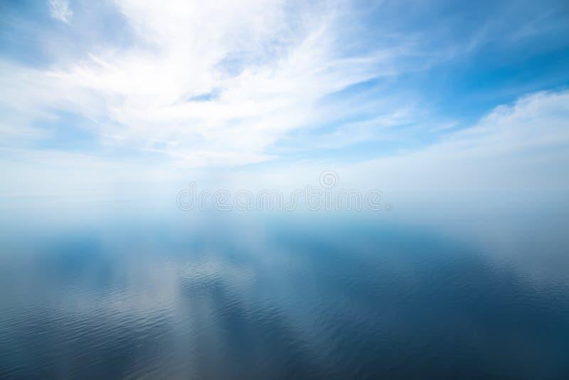 Paisaje marino hermoso en el Océano Atlántico imagen de archivo libre de regalías