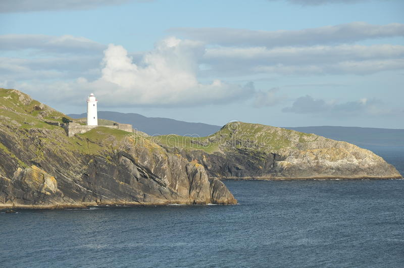 Paisaje marino irlandés foto de archivo libre de regalías
