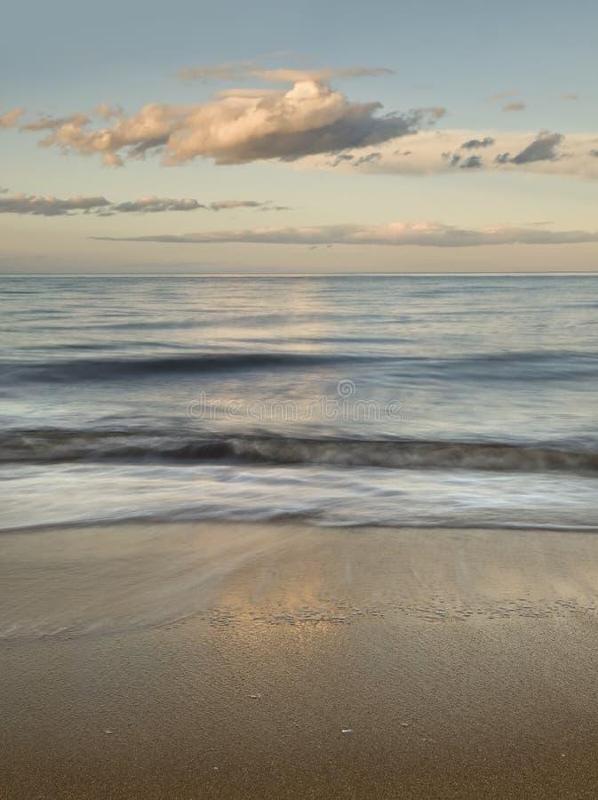 Paisaje marino sereno fotos de archivo
