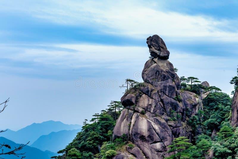 Paisaje natural de Sanqing Mountain, Sanqingshan, Jiangxi, China fotos de archivo libres de regalías