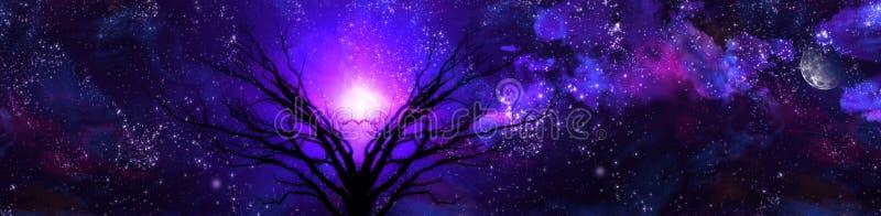 Paisaje púrpura libre illustration