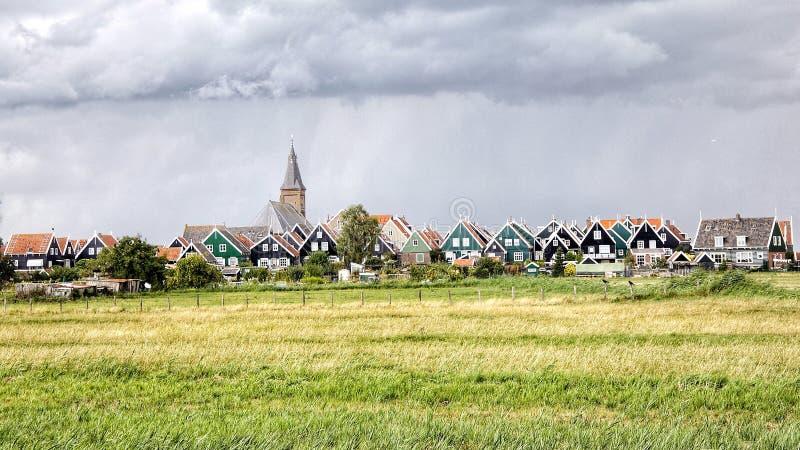 Paisaje Países Bajos del país foto de archivo
