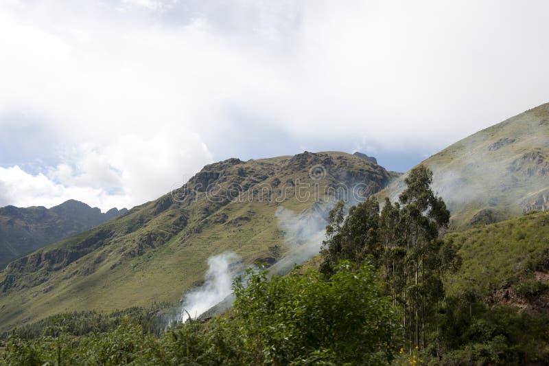 Paisaje peruano foto de archivo libre de regalías