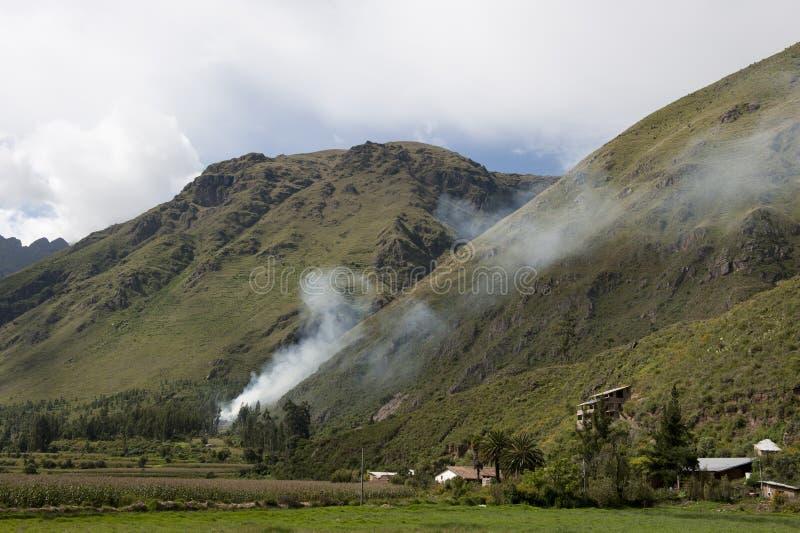 Paisaje peruano fotografía de archivo libre de regalías