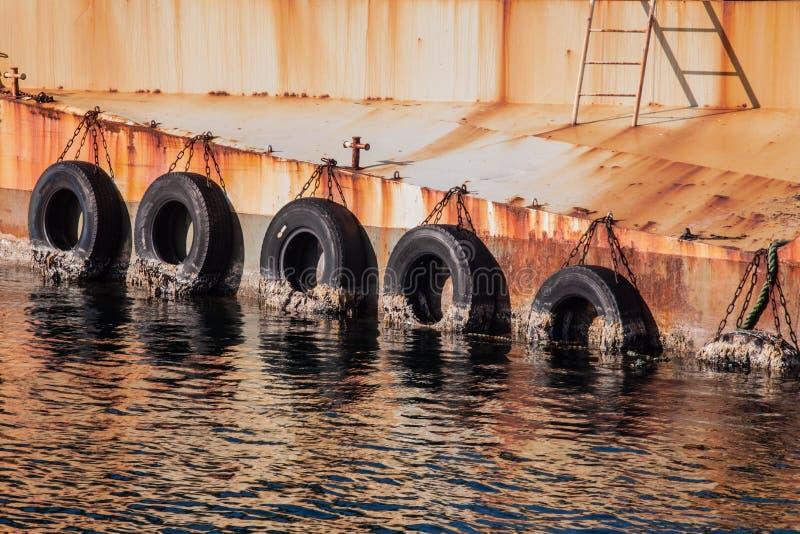 """Paisaje reflexivo del puerto del †abstracto, moderno de la impresión """"del ti foto de archivo libre de regalías"""