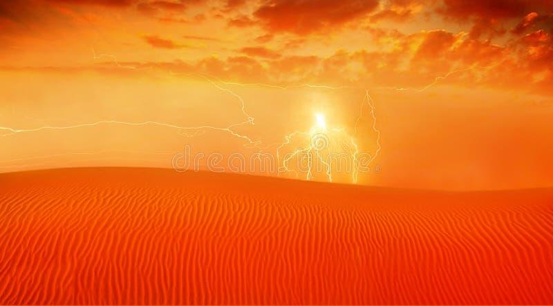 Paisaje rojo del desierto imagenes de archivo