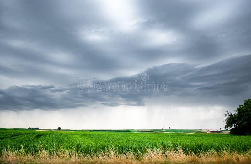 Download Paisaje rural foto de archivo. Imagen de lluvia, cosechas - 42439030