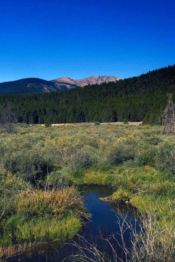 Paisaje rural de Colorado imagenes de archivo
