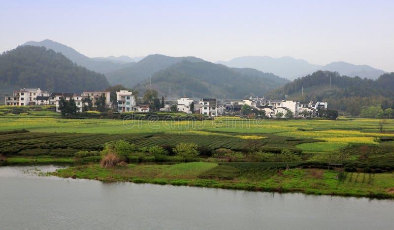 Paisaje rural del paisaje fotografía de archivo