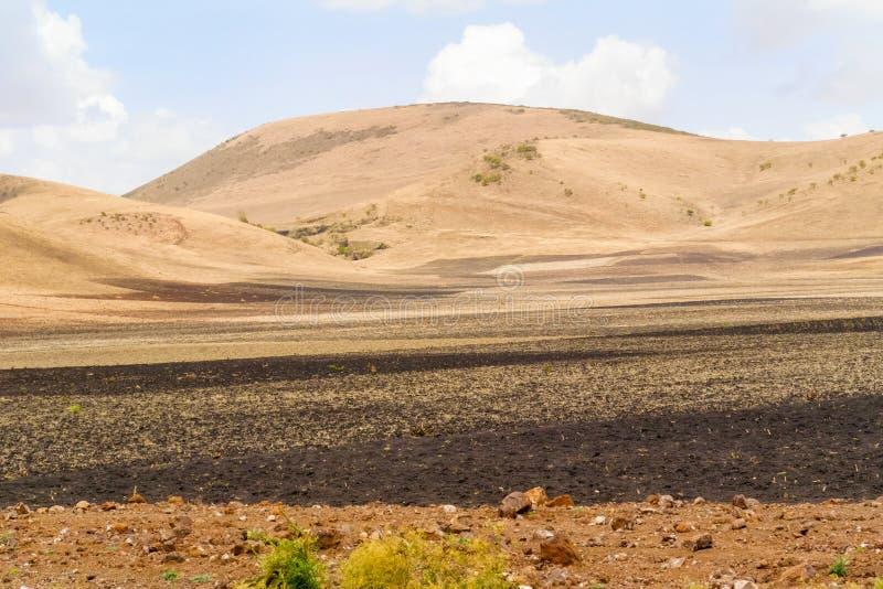 Paisaje rural en Etiopía fotografía de archivo libre de regalías