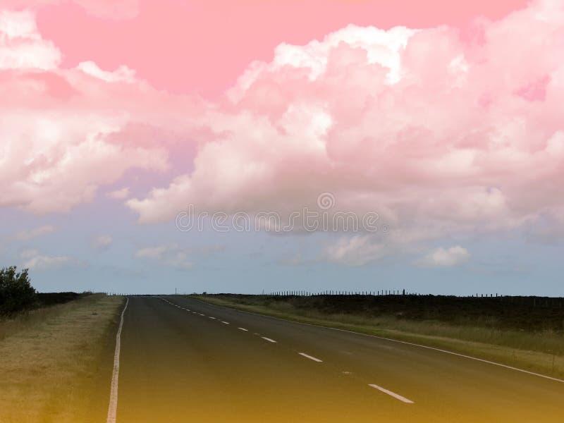 Paisaje surrealista imagen de archivo libre de regalías