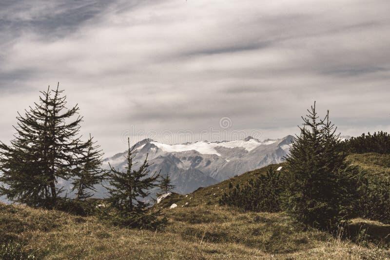 Paisaje t?pico de la monta?a en las dolom?as italianas fotos de archivo libres de regalías